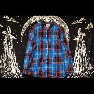 Plaid colored XL women's shirt